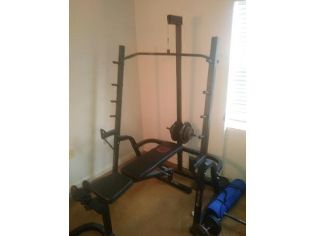 Weight pulley rack